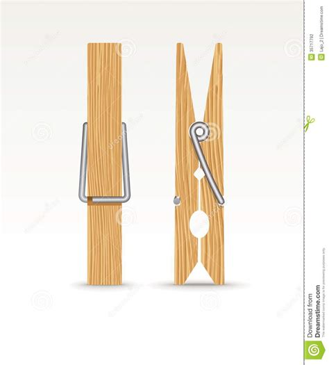 woodworking clip wooden cloth stock photo image of clothes clip