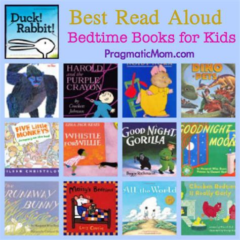 Best Bedtime Books To Read Aloud Pragmaticmom