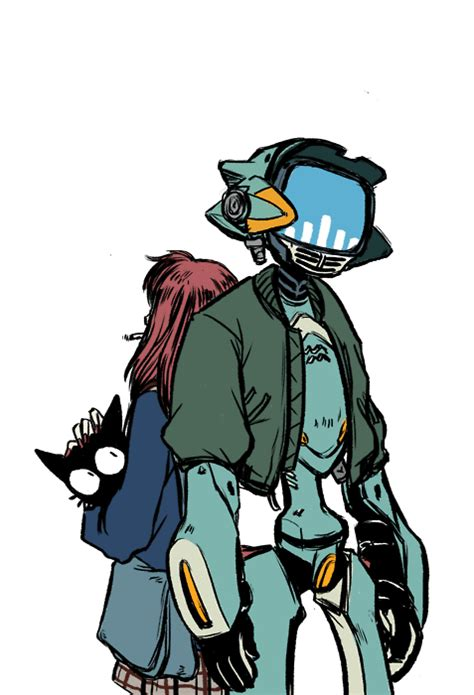 fooly cooly gif illustration anime flcl mamimi fooly cooly canti