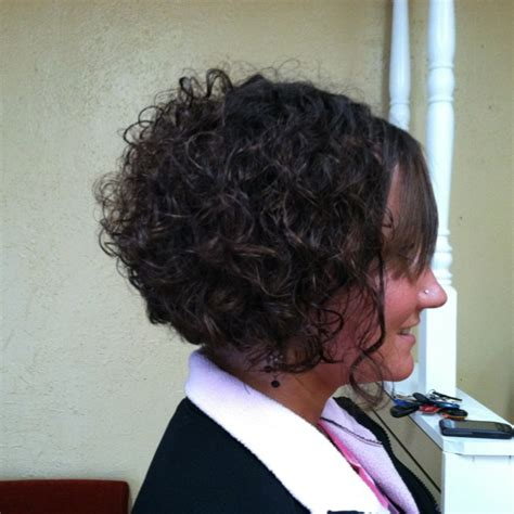 stacked bob haircut pictures curly hair stacked bob on curly hair favorite places spaces
