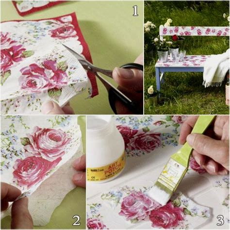 can you decoupage photos 39 furniture decoupage ideas give things a second