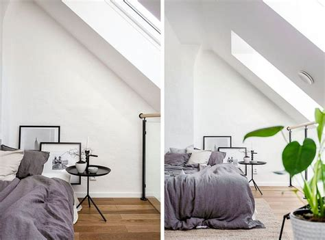 scandinavian bedroom style world of white and gray scandinavian style apartment in