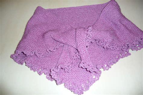 comment tricoter un chale aux aiguilles nos conseils