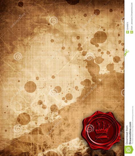 sealing paper royal wax seal stock illustration image of envelope