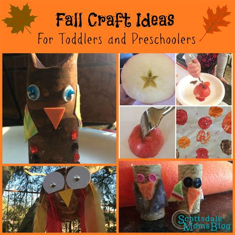 november craft ideas for fall craft ideas for toddlers and preschoolers