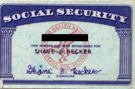 how to make a ssn card my social security card flickr photo