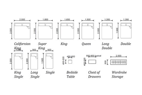 bedroom furniture dimensions bedroom furniture sizes photos and