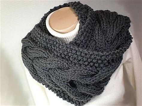 mobius cowl free knitting pattern warm knitted cowls for cold days