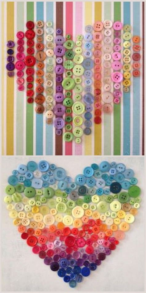 button craft projects 25 best ideas about button canvas on button