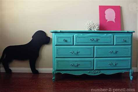 chalkboard painting a dresser turquoise dresser makeover with chalk paint no 2 pencil