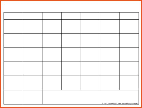 search results for blank 2016 calendar template