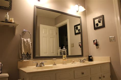 mirror frames bathroom tips framed bathroom mirrors midcityeast