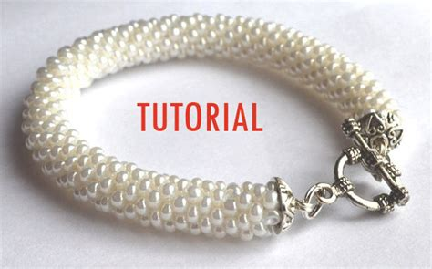 bead crochet tutorial beaded crochet rope tutorial bracelet tutorial beadwork