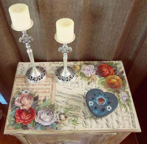 decoupage furniture diy 25 best ideas about decoupage table on modge