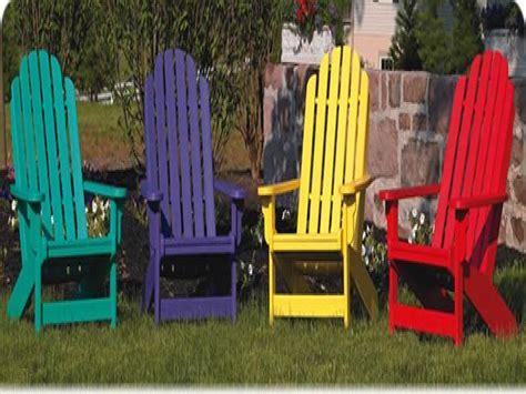 Colorful Adirondack Chairs by Shop Outdoor Furniture Colorful Adirondack Chairs Patio