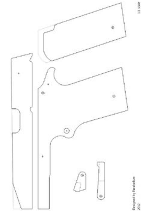 rubber st template free m9 semi auto rubber band gun construction manual