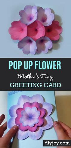 cool pop up cards to make 25 best ideas about flower pop up card on