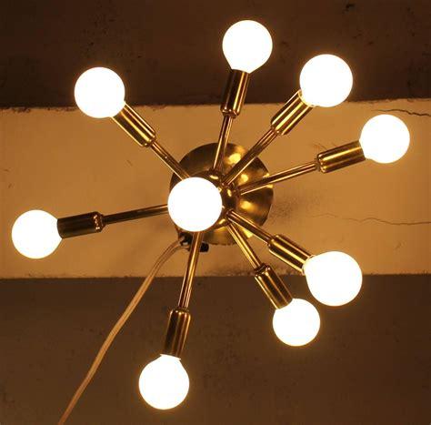 mid century ceiling light sputnik ceiling light mid century modern at 1stdibs