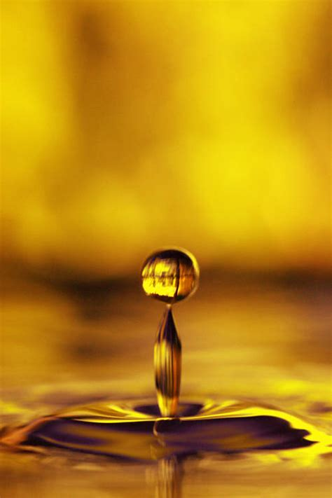 gold water water drop quotes quotesgram
