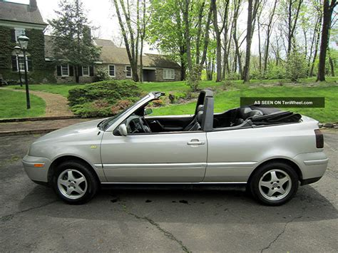 2000 Volkswagen Cabrio by 2000 Volkswagen Cabrio With