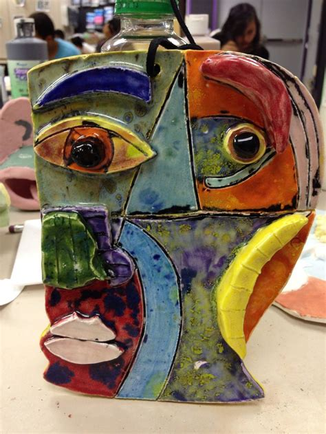picasso paintings mask 76 best images about lesson ideas cubism on