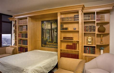 murphy bed with shelves archives