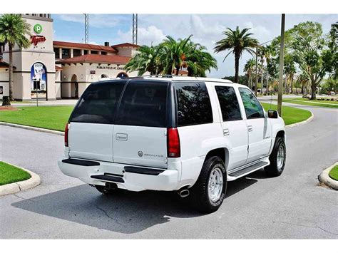 2000 Cadillac Escalade For Sale by 2000 Cadillac Escalade For Sale Classiccars Cc 1030719