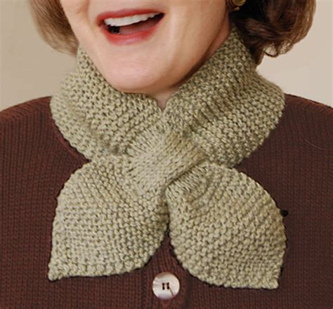 knitted neck scarf patterns knit pattern neck muffler free knitting and crochet patterns