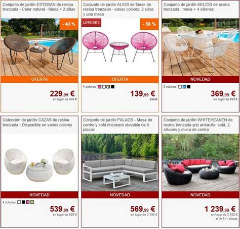 tienda online muebles dise o muebles de jard 237 n online a precios baratos y de dise 241 o