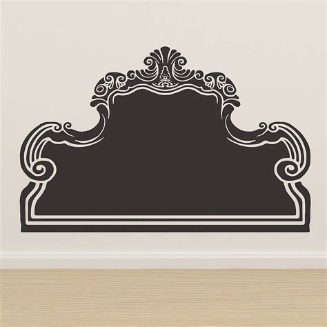 headboard wall sticker vintage bed headboard wall sticker by oakdene designs