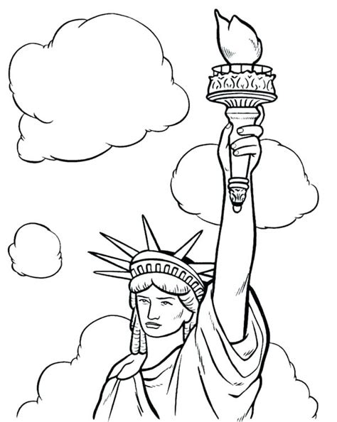 statue of liberty coloring appsforpcq com