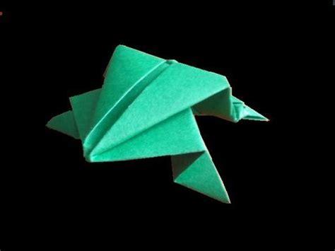 origami frogs that jump origami frosch origami papierfaltkunst lerner
