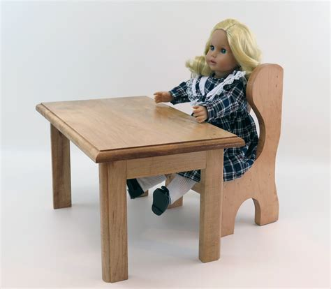 18 inch doll desk 18 inch doll furniture school desk table and chair