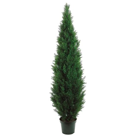 outdoor artificial tree 7 foot outdoor artificial cedar tree potted 7ftced
