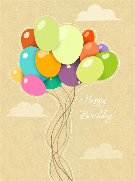 how to make greeting cards on the computer original balloons free birthday cards