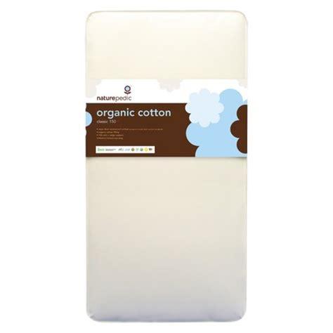 naturepedic organic crib mattress naturepedic organic cotton crib mattress target
