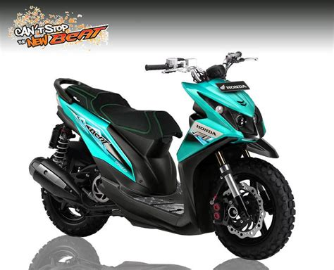 Motor Modifikasi Honda by Kumpulan Modifikasi Motor Honda Beat Negeri Info