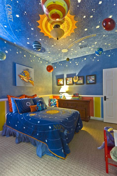 Boys Bedroom Decorating Ideas Pictures 21 cool ceiling designs that turn kids bedrooms into