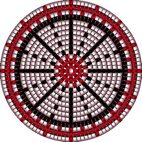 beaded rosettes patterns beaded basket pattern by lobo1