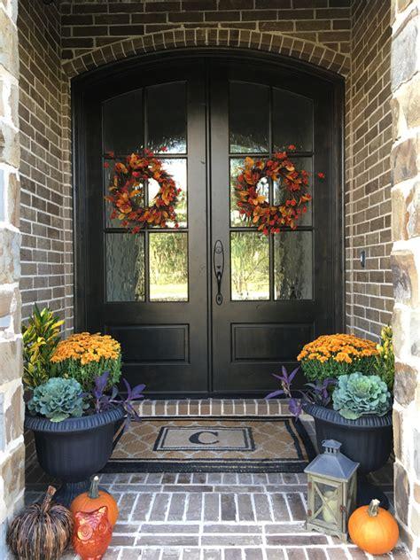 autumn front door decorating ideas instagram fall decorating ideas home bunch interior