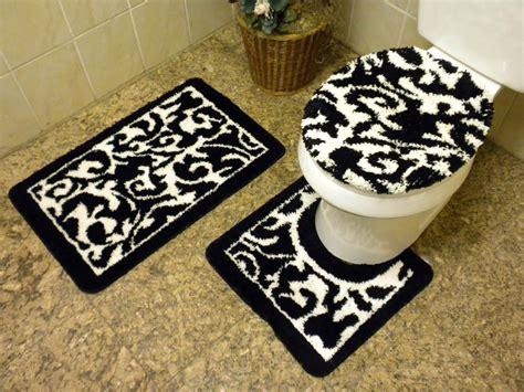 and black bathroom rugs black and white bathroom rug best decor things
