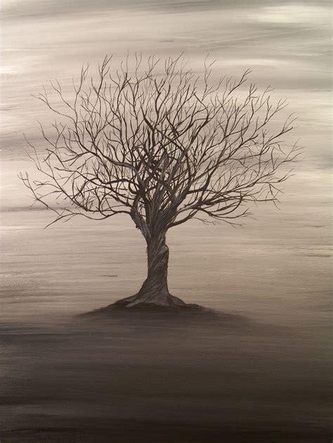 acrylic paint tree 25 best ideas about tree paintings on tree
