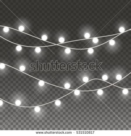 white light strings string lights stock images royalty free images vectors