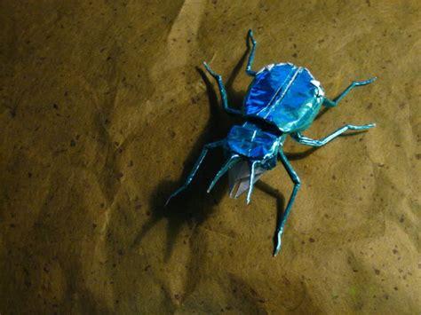 origami beetle tiger beetle