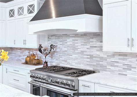 modern white kitchen backsplash 25 best marble subway tiles ideas on