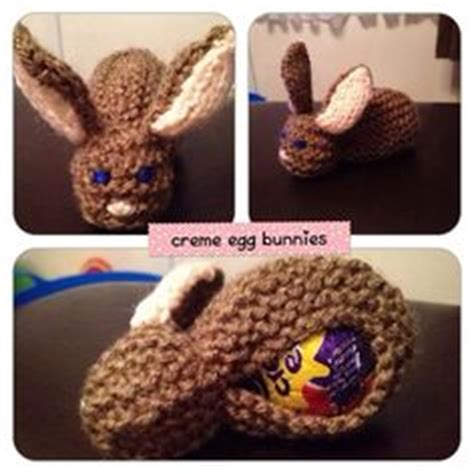 knitted easter egg covers knitted easter containing a creme egg makes a