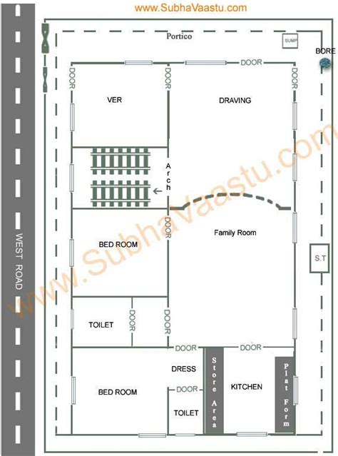 vastu plans for house vaastu shastra west facing house plan home vastu plans