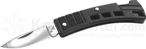 buck kitchen knives buck 425 minibuck folding knife 1 7 8 quot blade black valox handles knifecenter 9200