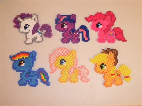 my pony perler 75 best images about on perler hama