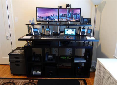 home standing desk home office standing desk ikea hackers